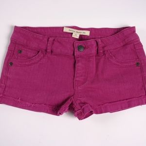 Forever 21 Womens Hot pink Jean shorts size 28